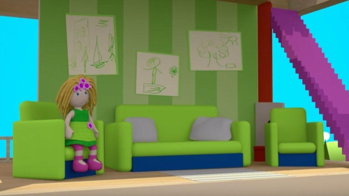 Гостиная Бьянки из «Кукольного домика»