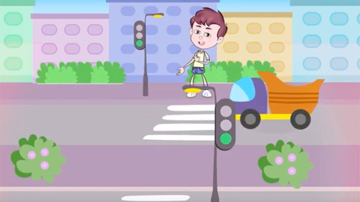 ПДД: пешеходный переход