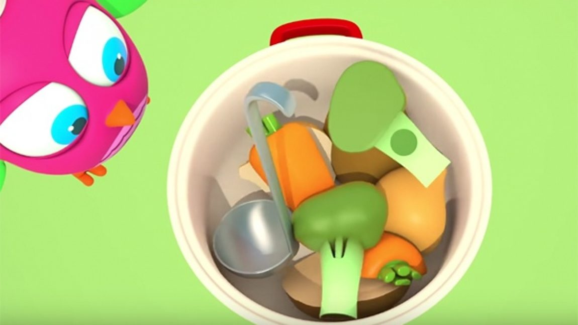 «Совёнок Хоп-Хоп» знакомится с овощами