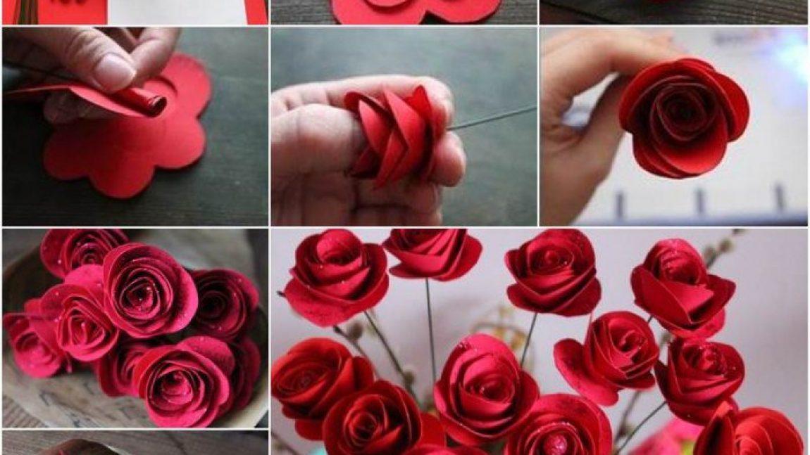 Цветы из бумаги: 6 вариантов