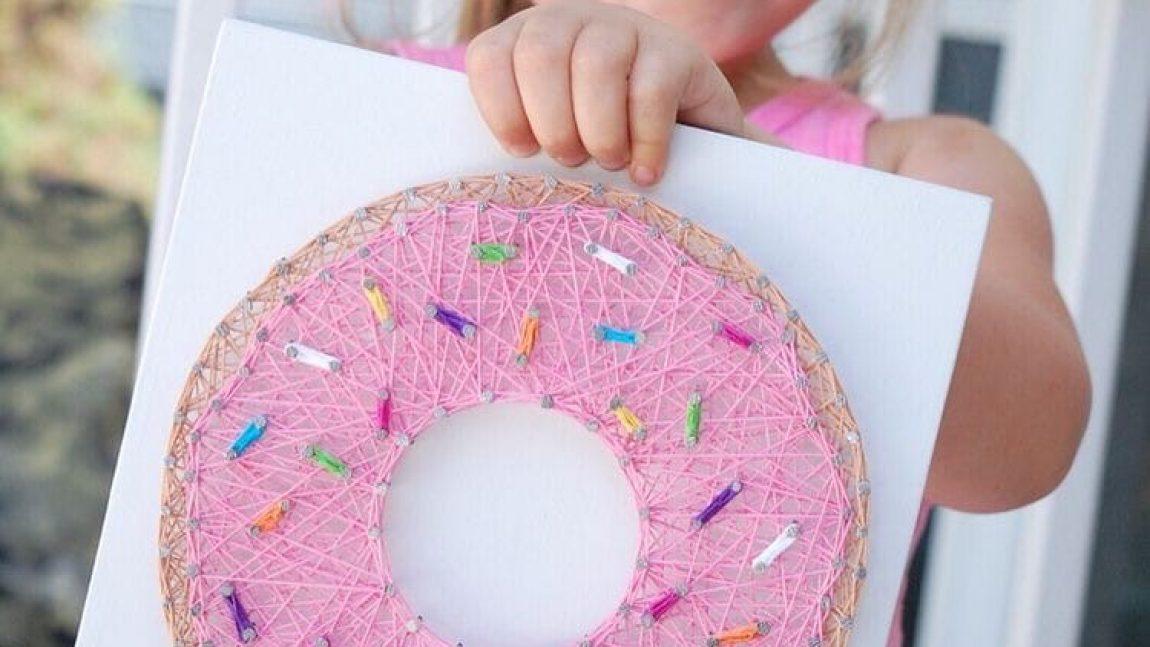Невредный пончик для маленького сластёны