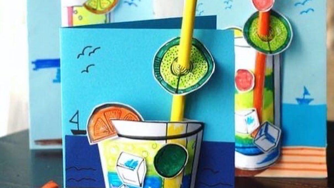 Лимонадная аппликация