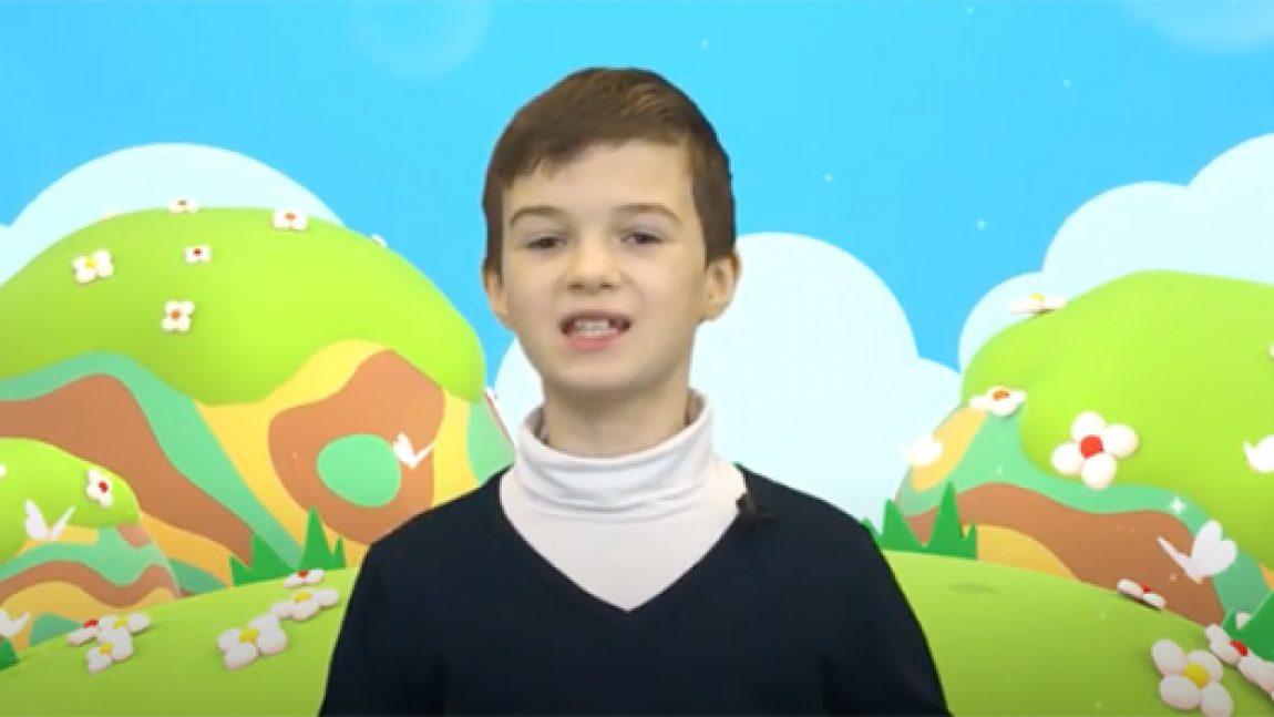 """Никита Нарышков рчитает Самуила Маршака """"Апрель"""""""