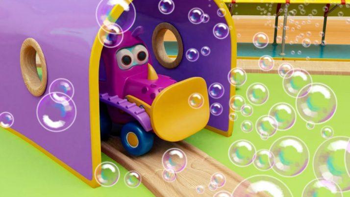 «Мокас»: мыльные пузыри